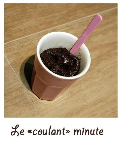 """Le """"coulant minute"""""""