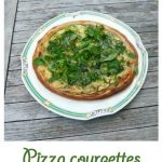 Pizza courgettes by Bribriche