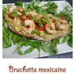 Bruchetta mexicaine