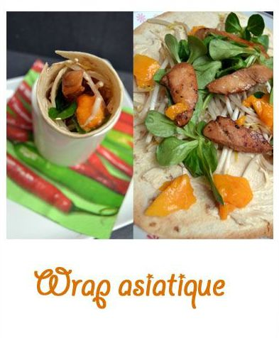 Wrap asiatique