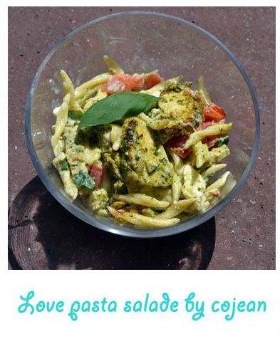 Love pasta salade by cojean
