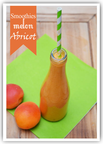 Smoothies melon et abricot