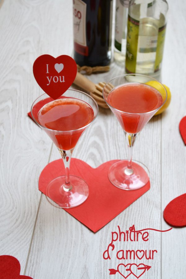 Cocktail philtre d'amour