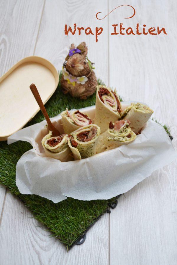 Wrap italien – Foodista Challenge #7
