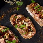 Tartines rillettes de canard figues noix gingembre Bordeau Chesnel