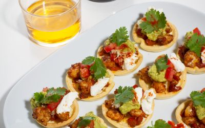 Barquettes mexicaines (accord met/cidre Val de Rance)