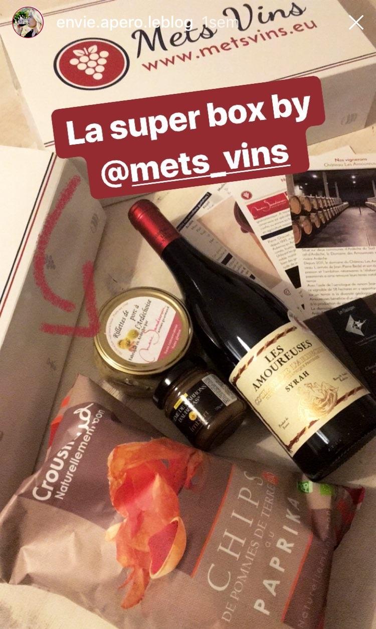 box mets et vin