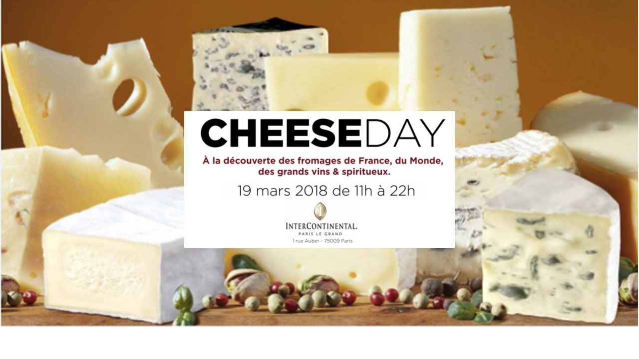 Cheese Day revient le 19 mars 2018