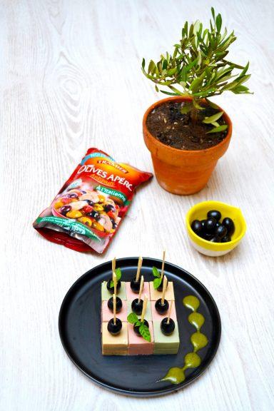 Panna cotta aux olives